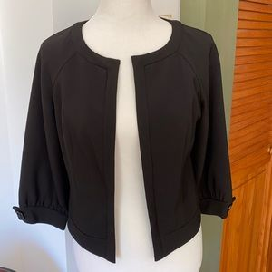 Adrianna Papell Open Front Suit Jacket